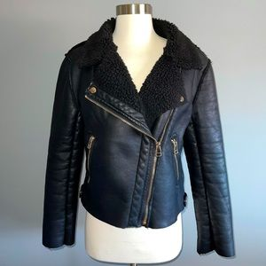 Forever21 Black Motorcycle Jacket!